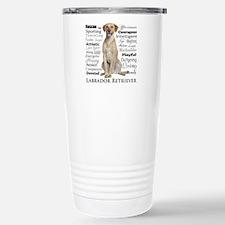 Labrador Traits Travel Mug