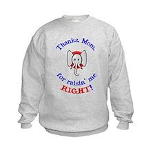 Thanks Mom - Republican Sweatshirt