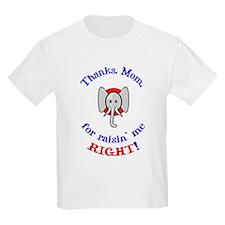 Thanks Mom - Republican T-Shirt