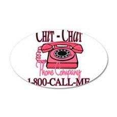New chitchatphonecompany copy.jpg Wall Decal