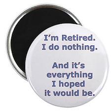 """Retirement 2.25"""" Magnet (100 pack)"""