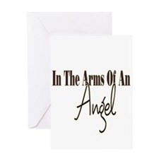 Arms Of An Angel Greeting Card