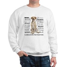Labrador Traits Sweatshirt