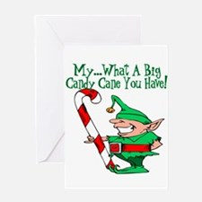 10x10_apparel bigcandycane copy.jpg Greeting Card