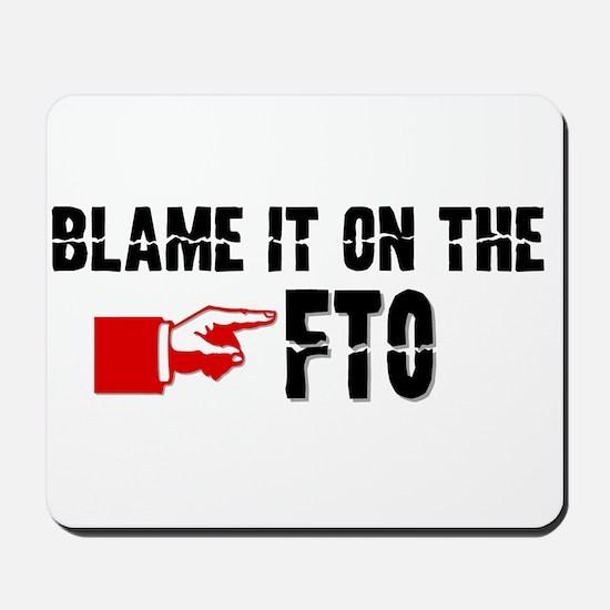 FTO Mousepad