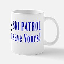 Ski Patrol white Mug