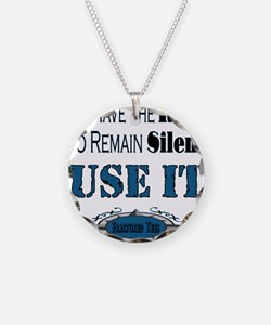 Remain Silent Necklace