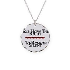 righttoremainsilentwhite copy.png Necklace