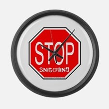10x10_apparelstopsignsnitching copy.jpg Large Wall