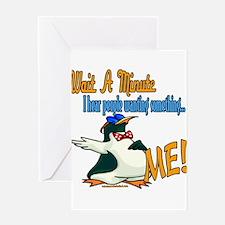 PenguinWantingMe copy.png Greeting Card