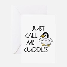 Just Call Me Cuddles Greeting Card