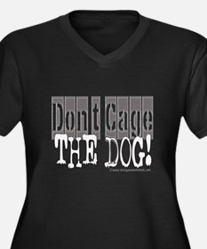 10x10_apparel DONTCAGEDOGgray copy.jpg Women's Plu