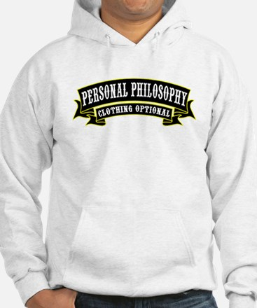 Personal Philosophy Jumper Hoody