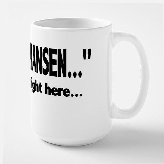 chris hansen seat Mugs
