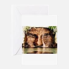 14x10_print copywaterfall man.png Greeting Card