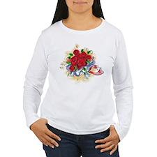 10x10_apparel floral roses copy.png T-Shirt