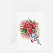 10x10_apparel roses bunch copy.png Greeting Card