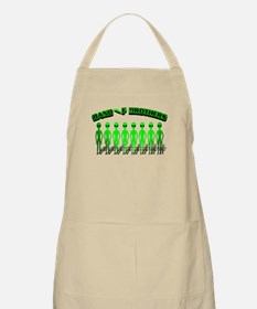 Alien Band of Brothers Green BBQ Apron