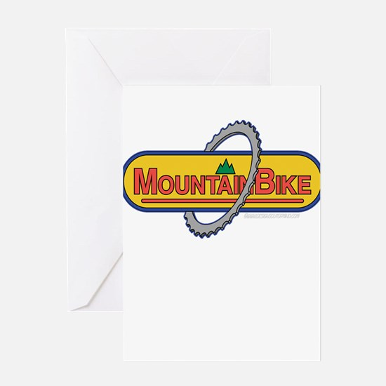 10x10_apparel mountainbike copy.png Greeting Card