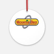 10x10_apparel mountainbike copy.png Ornament (Roun