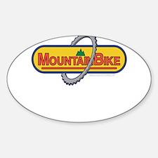 10x10_apparel mountainbike copy.png Sticker (Oval)