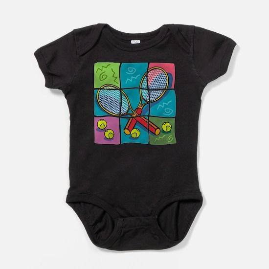10x10_apparel puzzletennis copy.jpg Baby Bodysuit