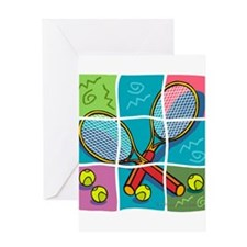 10x10_apparel puzzletennis copy.jpg Greeting Card