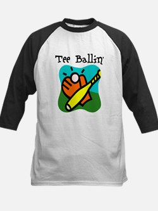 Tee Ballin Kids Baseball Jersey