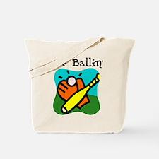 Tee Ballin Tote Bag