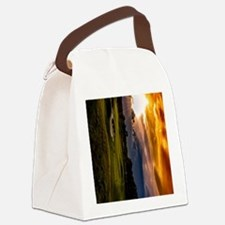 Mens Shoes golf themed shoes Canvas Lunch Bag