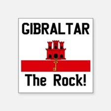 "Gibraltar Square Sticker 3"" x 3"""