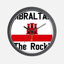 Gibraltar - Front and Back Wall Clock