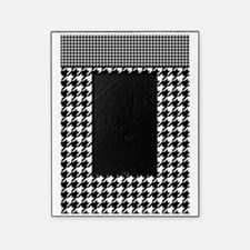 Black | White Houndstooth Pattern Picture Frame
