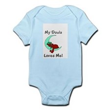 """""""My Doula Loves Me!"""" Infant Creeper"""