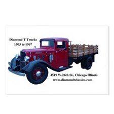 Diamond T Trucks 1905 to 1967 Postcards (8)