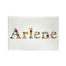 Arlene Bright Flowers Rectangle Magnet