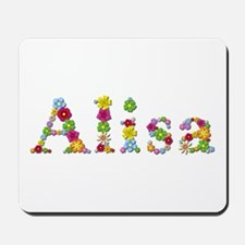 Alisa Bright Flowers Mousepad