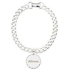 Allyson Bright Flowers Bracelet
