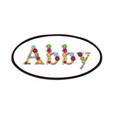 Abby Bright Flowers Patch