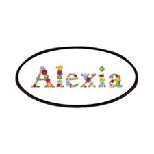 Alexia Bright Flowers Patch