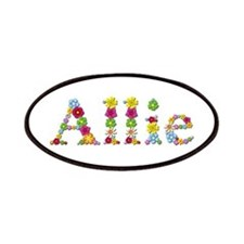 Allie Bright Flowers Patch