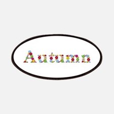 Autumn Bright Flowers Patch
