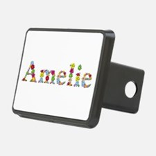Amelie Bright Flowers Hitch Cover