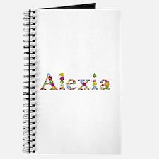 Alexia Bright Flowers Journal