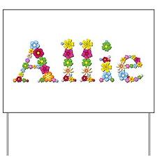 Allie Bright Flowers Yard Sign