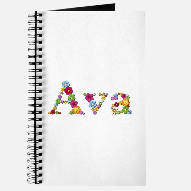 Ava Bright Flowers Journal