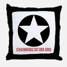 ChanningTatum.org Throw Pillow