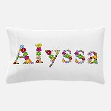 Alyssa Bright Flowers Pillow Case