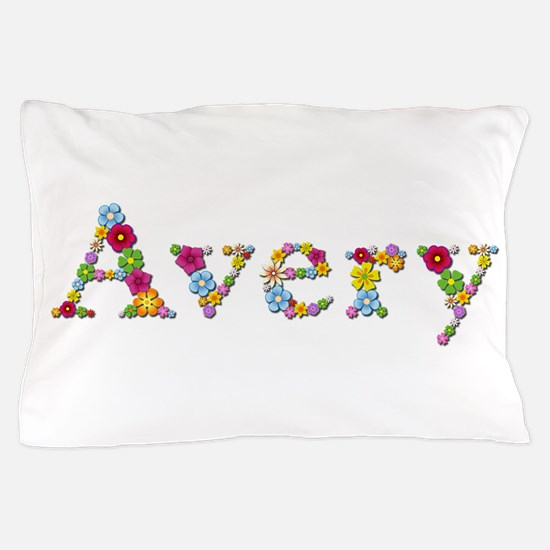 Avery Bright Flowers Pillow Case