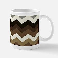 Dark Chocolate Chevron Mugs
